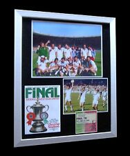 WEST HAM 1980 FA CUP FINAL LMITED Numbered FRAMED+EXPRESS GLOBAL SHIPPING