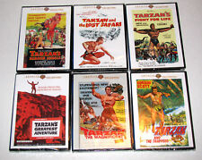 Gordon Scott Tarzan 6 DVD Collection