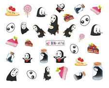 Nail Art Decals Transfers Stickers Cartoon Emo Children & Cakes (DB476)