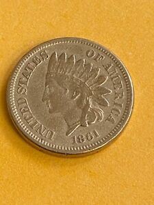 1861 indian head penny