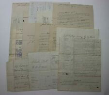 Lot 30 Lycoming County PA Civil War Era Official Court Document Correspondence