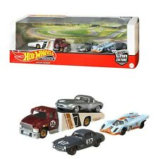 Hot Wheels Premium Car Culture Porsche MERCEDES Jaguar Diorama Set 2020