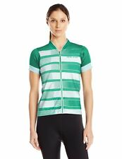 Women's Pearl iZUMi MTB LTD Jersey Large, Green Spruce Herringbone