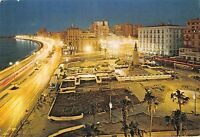 BR92191 alexandria saad zaghloul square by night egypt africa