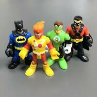 Lot 4 Fisher-Price Imaginext DC Super Friends FIRESTORM Robin batman figure Toys