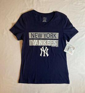 New York Yankees Girls T-Shirt, Size: Medium (7/8), MLB