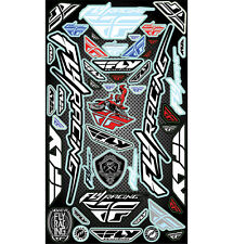 "Fly Racing Logo MX ATV Sticker Decal Sheet 10.5""x18"""