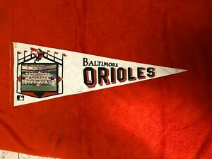 1970 BALTIMORE ORIOLES TEAM PHOTO PENNANT WORLD SERIES CHAMPS