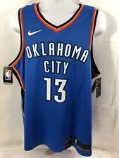 Men's Nike Authentic Paul George 13 Okc Thunder Xl Dri-Fit Basketball Jersey Nwt