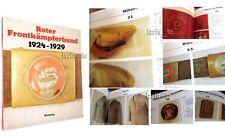 Buch : Roter Frontkämpferbund ( RFB Uniform Mütze Fahne ) -1929 Book Red Front-F