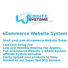 Website Systems™ 1GB SSD eCommerce Website - Create your Online Shop Today £25/m
