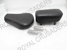 ROYAL ENFIELD CLASSIC C5 FRONT DRIVER & REAR PASSENGER COMPLETE SEAT #RE130 @JR