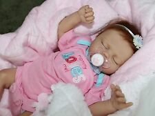 """""""MOMMY LOVES ME""""- Adorable 17"""" Collectors Life Like Baby Girl Doll + 2 Outfits"""