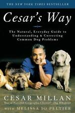 Cesar's Way by Cesar Millan hardcover book FREE SHIPPING Dog puppy training