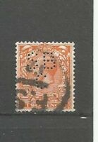 Perfins Großbritannien King Georg V Stamps Briefmarken Sellos Timbres