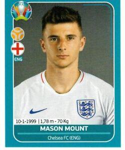 PANINI EURO 2020 PREVIEW FIGURINA N. 170 - ENG 22 MASON MOUNT (ENGLAND) ROOKIE