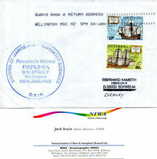 Ships, Boats Cover New Zealand Stamps