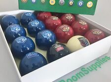 NRL Rugby League NSW V's QLD State of Origin POOL SNOOKER BILLIARDS BALLS SET
