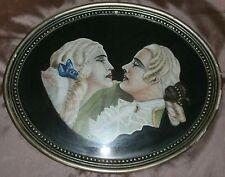 MATTIOLA Peinture années 20 /30 - Nobles en costume XVIIIème : Perruque & jabot