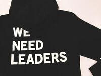 🔥RARE Nike Air Jordan X PSNY Public School We Need Leaders Hoodie Black XXL 2XL