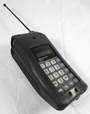 Vintage Motorola Tele Tac 250 Cell Phone w/ Clip On Case