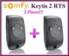 2 X Somfy Keytis 2 NS RTS Télécommande, 433.42Mhz rolling code