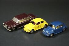 3x Auto Käfer Blechspielzeug Kellermann 1950er Jahre (EC530)