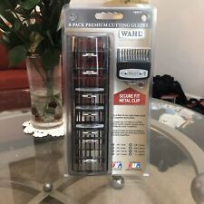 NEW! Wahl OEM Premium Cutting Guides #1-#8 Guards w/Organizer Hair Cut Clippers