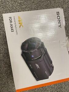 Sony Handycam Fdr-Ax43 Ultra HD 4k Camcorder Camera Fdrax43