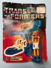 1985 Original Hasbro G1 Autobot Seaspray Transformer