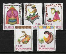 Suriname 1996 Christmas MNH Set CV £14+