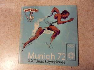 Album Munich 72 Jeux olympiques Panini