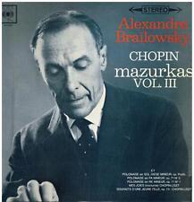 Chopin: Mazurche Volume III / Alexander Brailowsky - LP
