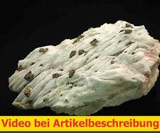 5858 Baryt UV Chalkopyrit etc Dreislar Sauerland Deutschland MOVIE