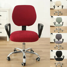 Stretch Removable Office Chair Cover Stretch Computer Seat Slipcov