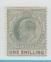 LAGOS 46  MINT HINGED OG *  NO FAULTS EXTRA FINE !