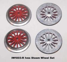IW1003-R Ives Steam / Electric Std Gauge Wheel Set, Wide Motor .made in U.S.A.
