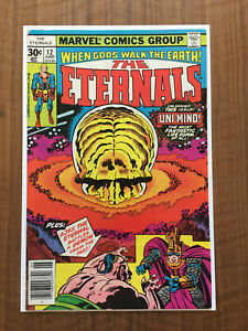 The Eternals 12, 1st appearance Uni-Mind, Marvel Movie, VG/FN Condition