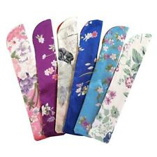 Exquisite Folding Hand Fan Bag Pouch Holder Dustproof Protector Case Cover