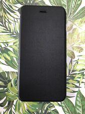 """CaseIt Black Slimline Folio Wallet Case Cover for Apple iPhone 6 Plus / 6S 5.5"""""""