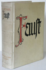 Goethe Faust Askanischer Verlag Berlin Pergament Schuber 1940 Bibliophilie
