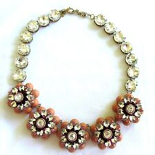 ANN TAYLOR BOLD STATEMENT NECKLACE EXTRA LARGE RHINESTONES
