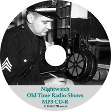 Nightwatch Old Time Radio Shows OTR OTRS 60 Episodes MP3 CD-R