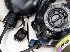 SGE 400/3 Gas Mask w/Drinking System FULL CBRN & NBC Protection NEW-Mfg July2018