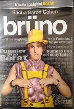 Bruno (Sacha Baron Cohen) New Sealed DVD.