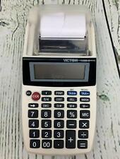 Victor 12 digit Portable Printing Calculator