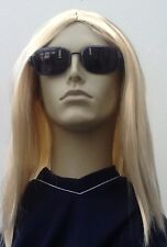 Men's Long Blonde fancy Dress Wig