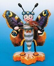 Hubrig Schmetterling Pfauenauge mit Geige, 307h0046