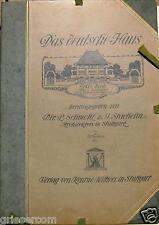 "schmohl & stähelin"" DAS DEUTSCHE Haus ""de 1910A 45 Pizarra Edición 5 piezas"