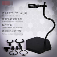 Snake Figure Stand Universal Movable Bracket Posable 1pc Fit 1/9 1/6 1/12 Doll